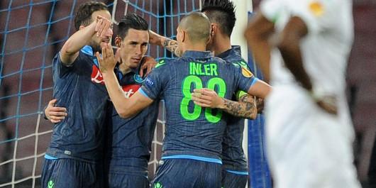 VIDEO – Napoli-Anaune 8-0, scatenati Insigne e Mertens: rivedi la sintesi della gara