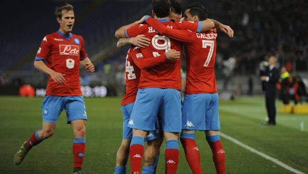 Lazio-Napoli 0-2: Higuain sblocca. Callejon blinda