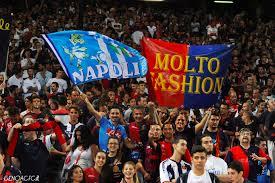 Video tifosi del Genoa allo Juventus Stadium che incitano il Napoli