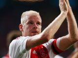 AMSTERDAM, NETHERLANDS - AUGUST 20:  Davy Klaassen of Ajax applaudes the fans after victory in the UEFA Europa League play off round 1st leg match between Ajax Amsterdam and FK Baumit Jablonec on August 20, 2015 in Amsterdam, Netherlands.  (Photo by Dean Mouhtaropoulos/Getty Images)